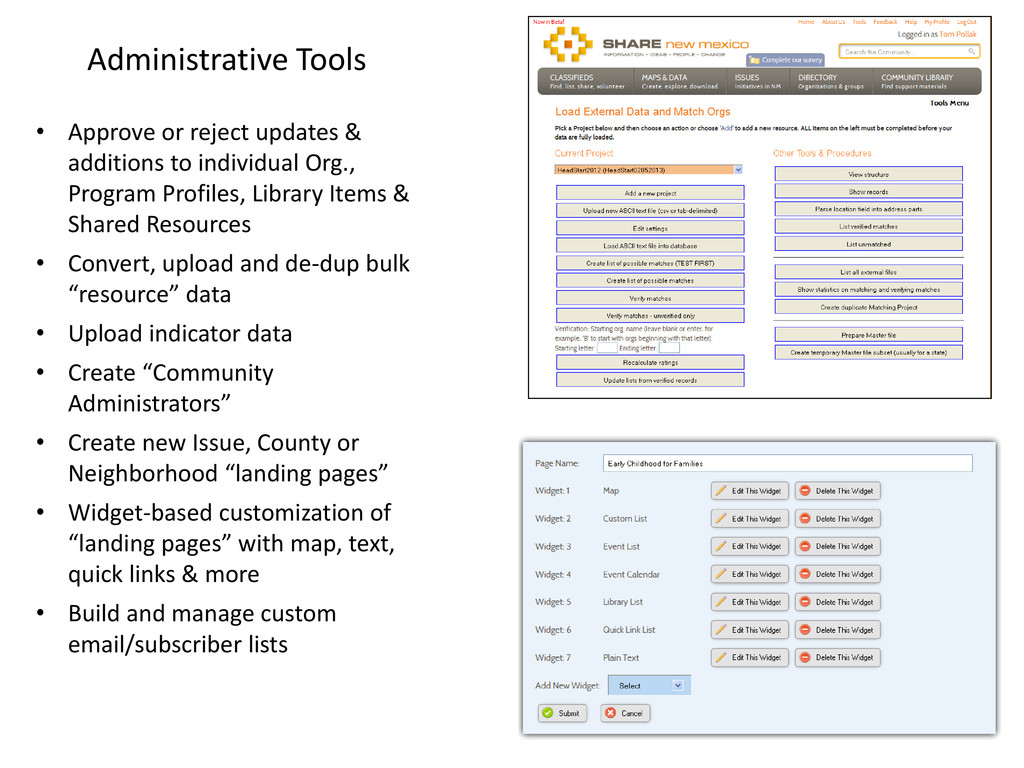 Administrative Tools • Approve or reject update...