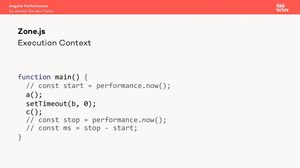 Execution Context function main() { // const st...