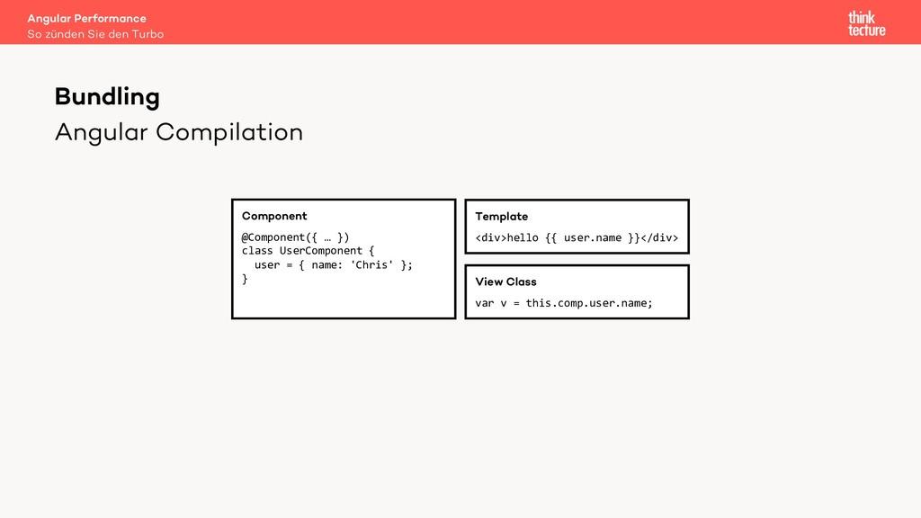 Angular Compilation Bundling Component @Compone...