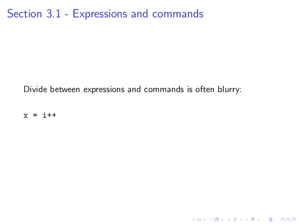 Section 3.1 - Expressions and commands Divide b...