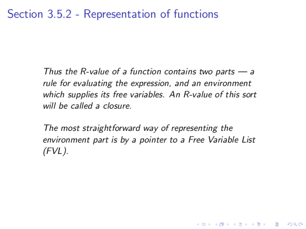 Section 3.5.2 - Representation of functions Thu...