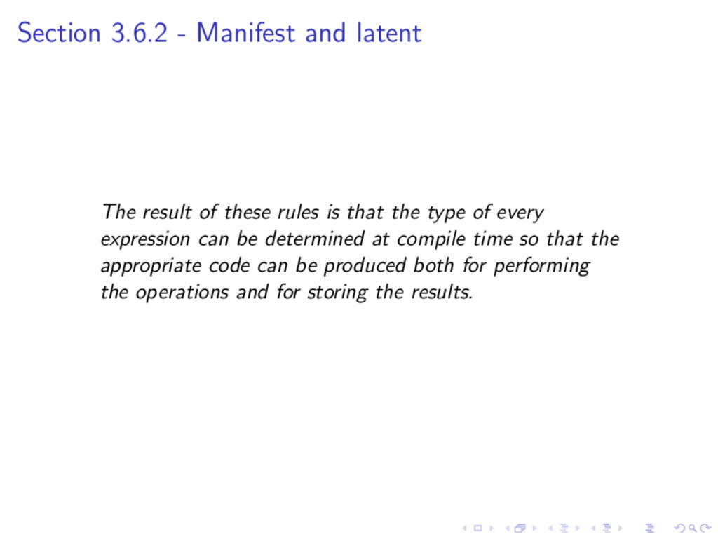 Section 3.6.2 - Manifest and latent The result ...