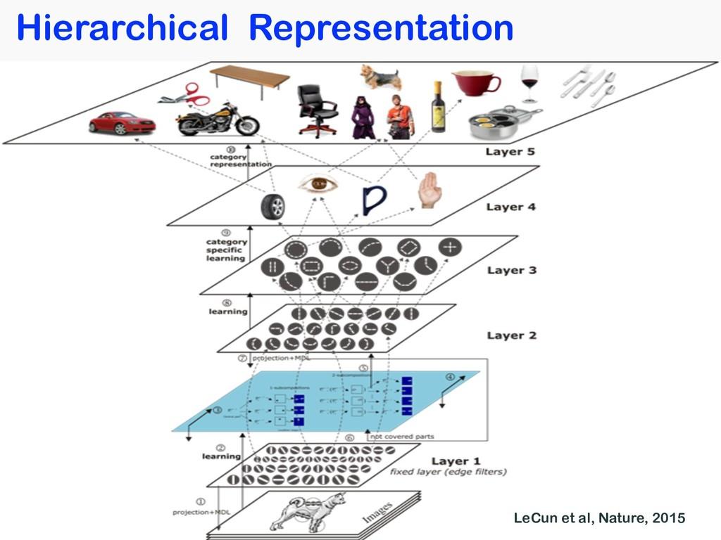 36 Hierarchical Representation LeCun et al, Nat...