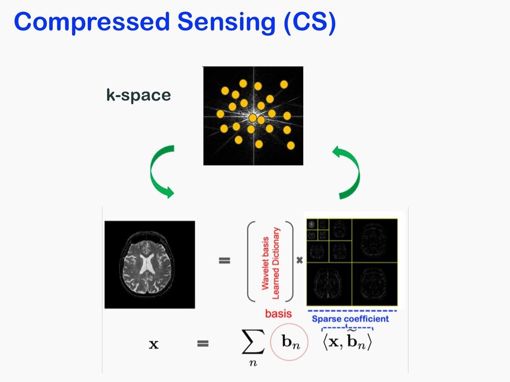 Compressed Sensing (CS) k-space