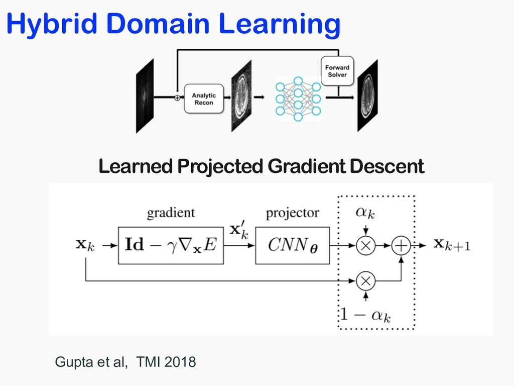 Hybrid Domain Learning Learned Projected Gradie...