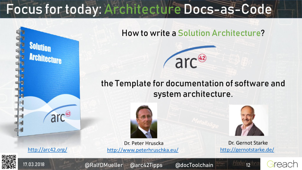 Focus for today: Architecture Docs-as-Code How ...