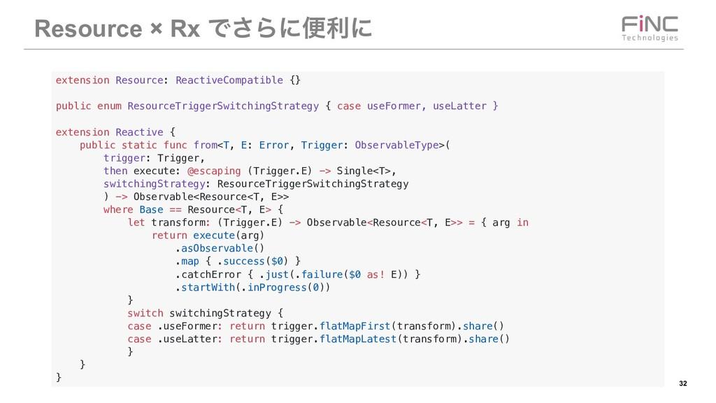 !32 Resource × Rx Ͱ͞Βʹศརʹ extension Resource: R...