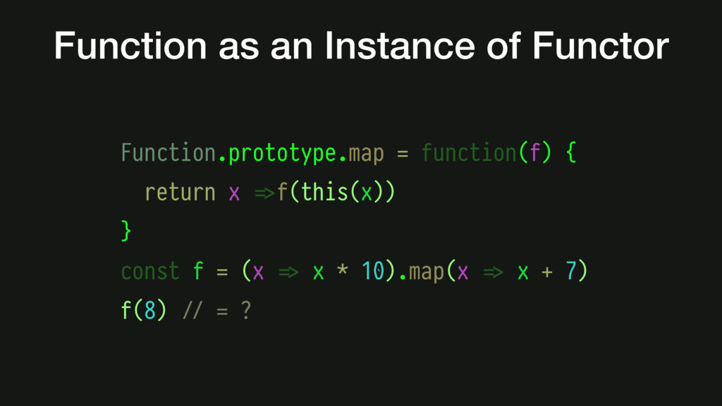 Function as an Instance of Functor Function.pro...