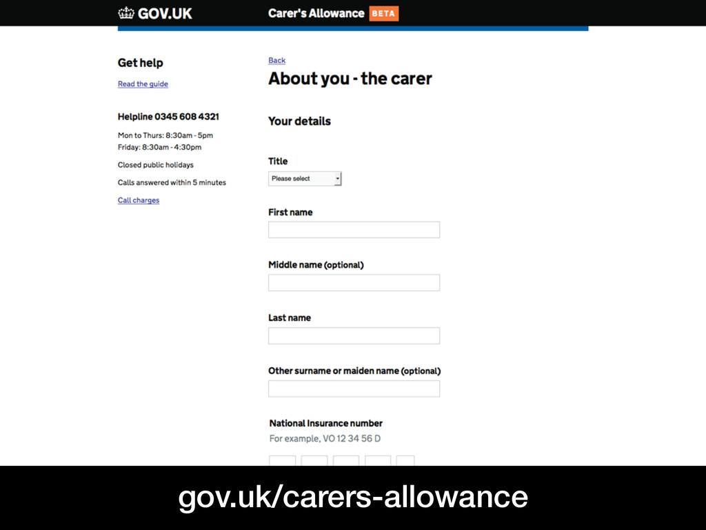 @benholliday Leeds GovJam 2015 gov.uk/carers-al...