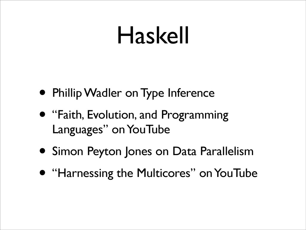 """Haskell • Phillip Wadler on Type Inference • """"F..."""