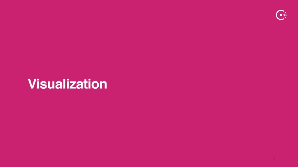 ∕ Visualization