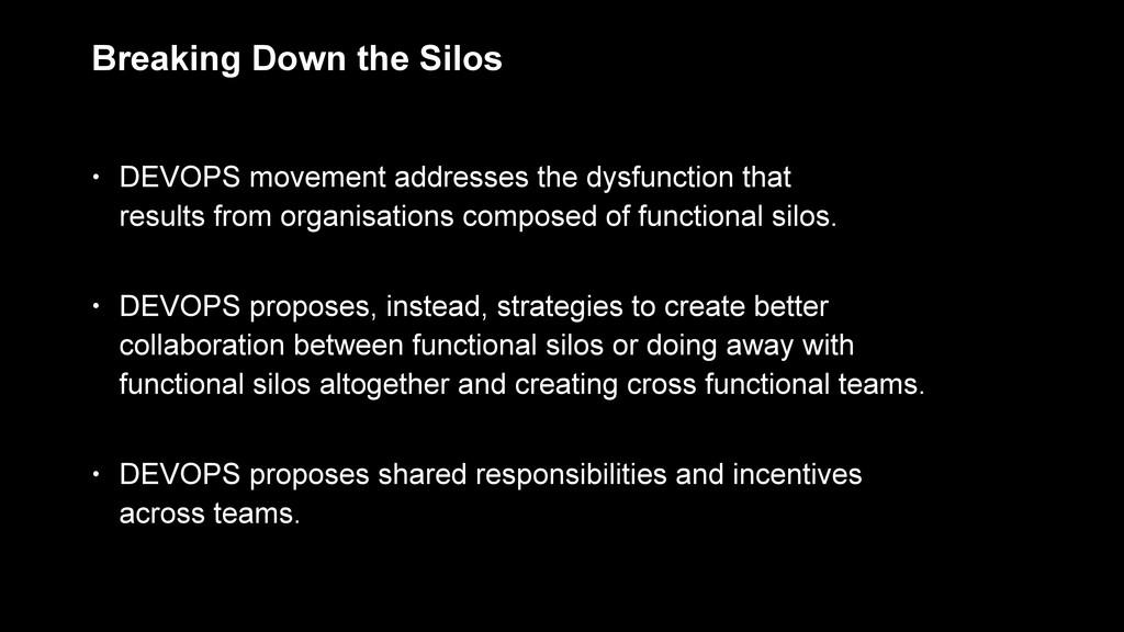 • DEVOPS proposes, instead, strategies to creat...