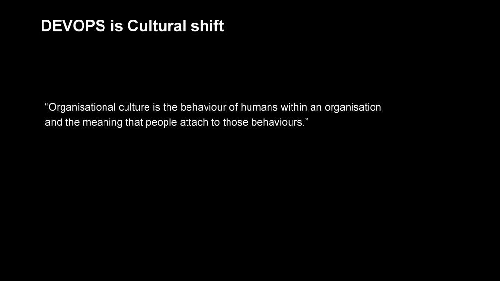 """Organisational culture is the behaviour of hum..."