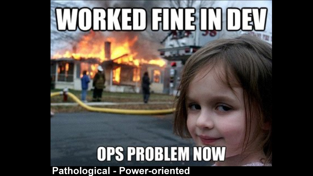 Pathological - Power-oriented