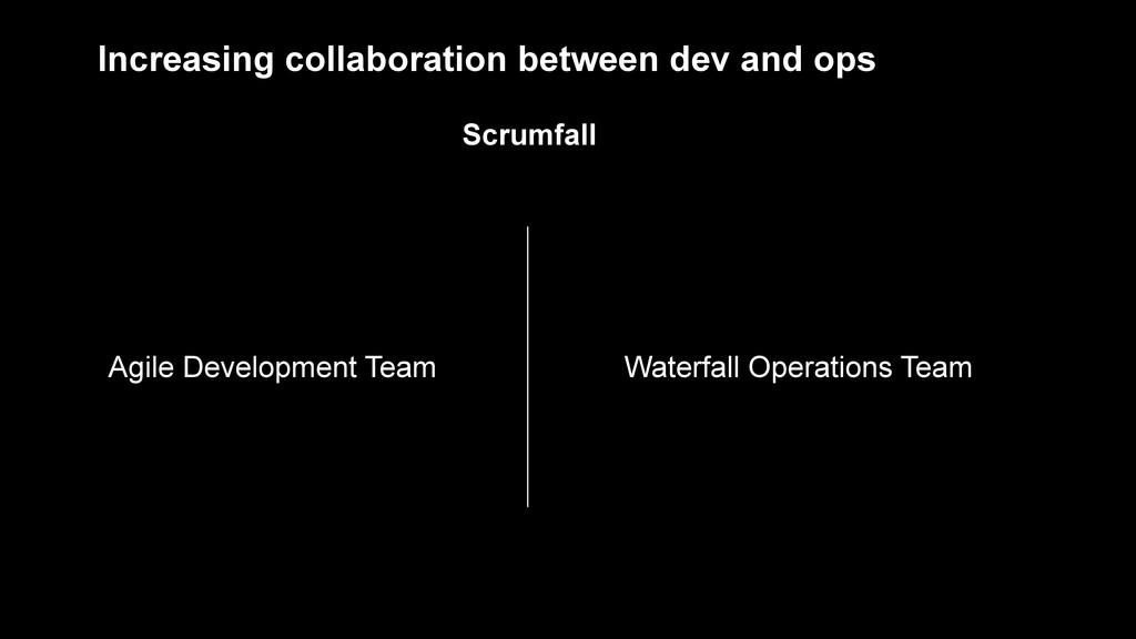 Agile Development Team Waterfall Operations Tea...
