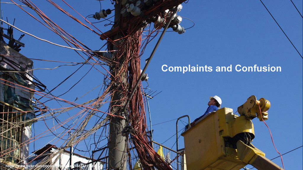 Complaints and Confusion https://www.flickr.com/...