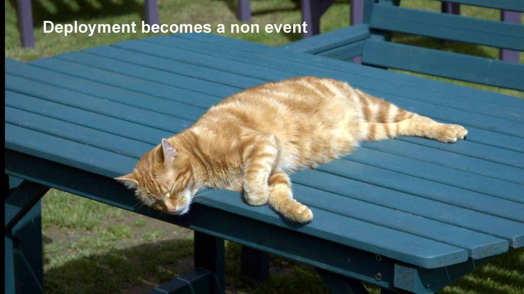 Deployment becomes a non event
