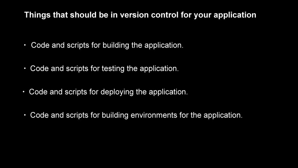 • Code and scripts for building the application...