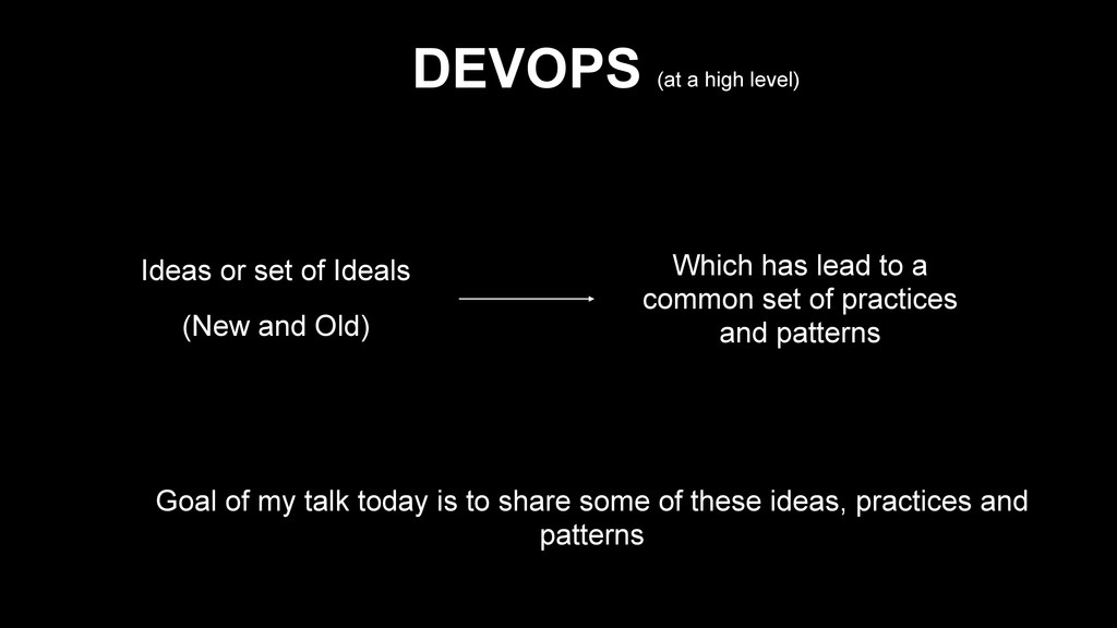 Ideas or set of Ideals (New and Old) Which has ...