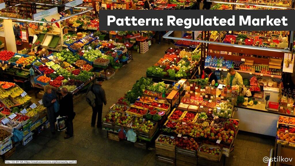 Pattern: Regulated Market @stilkov Troy / CC BY...