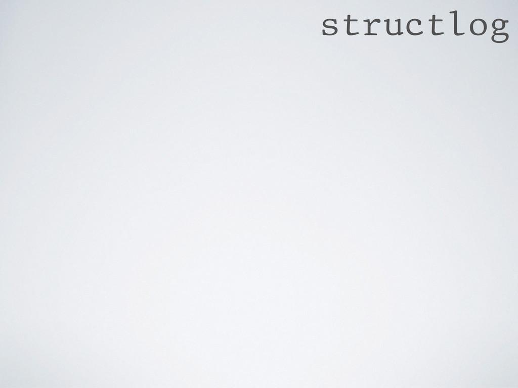 structlog