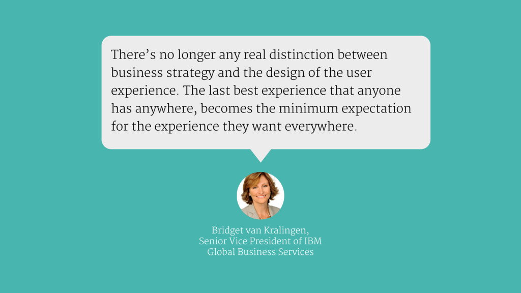 There's no longer any real distinction between ...