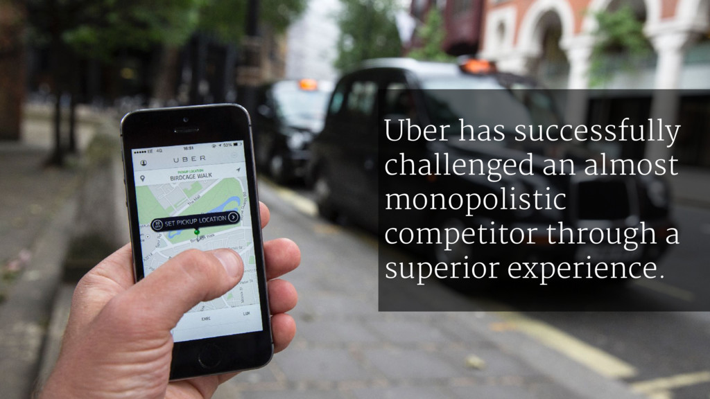 Uber has successfully challenged an almost mono...