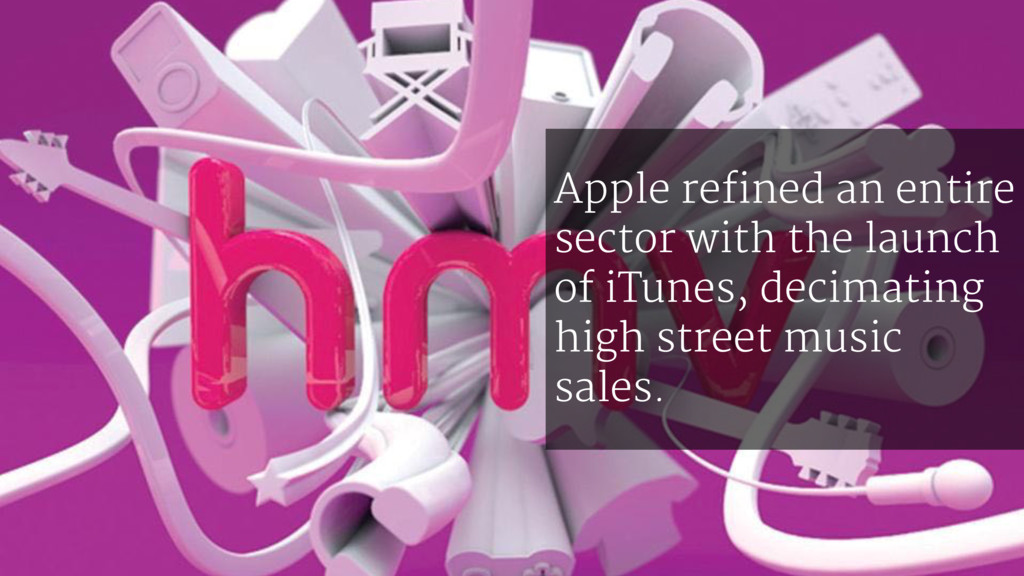 Apple refined an entire sector with the launch ...