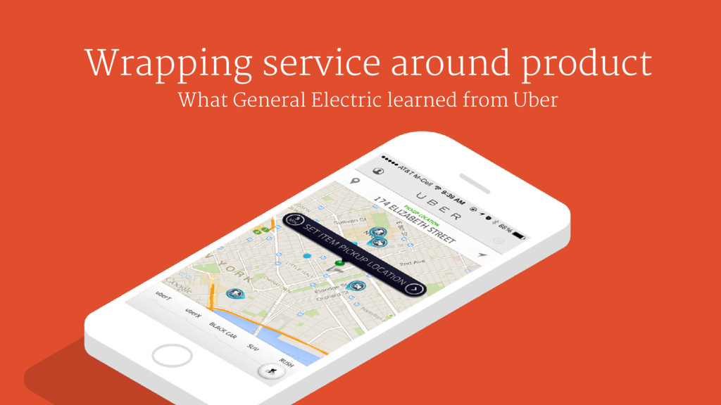 Wrapping service around product What General El...