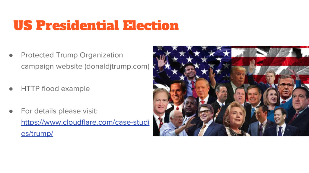US Presidential Election ● Protected Trump Orga...