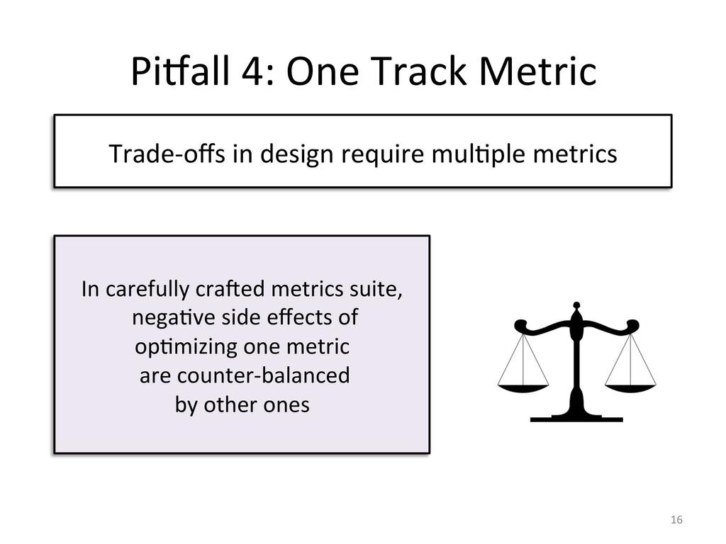 Pijall 4: One Track Metric  Trad...