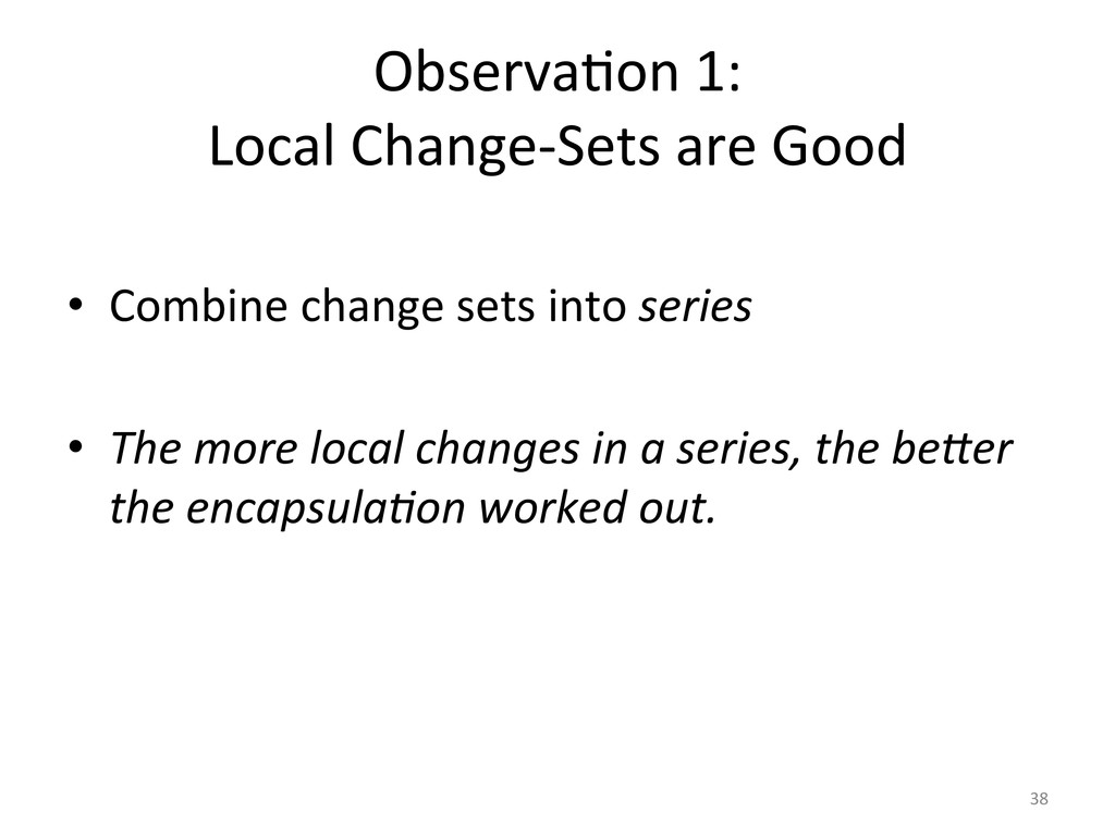ObservaUon	