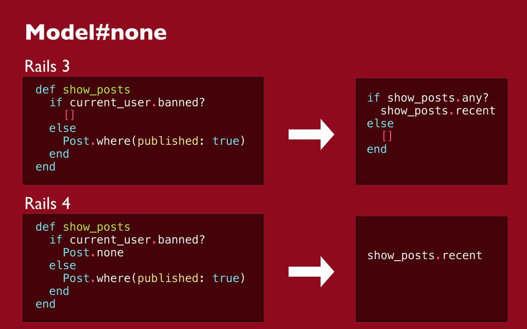 Model#none Rails 3 def show_posts if current_us...