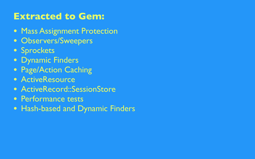 Extracted to Gem: • Mass Assignment Protection ...
