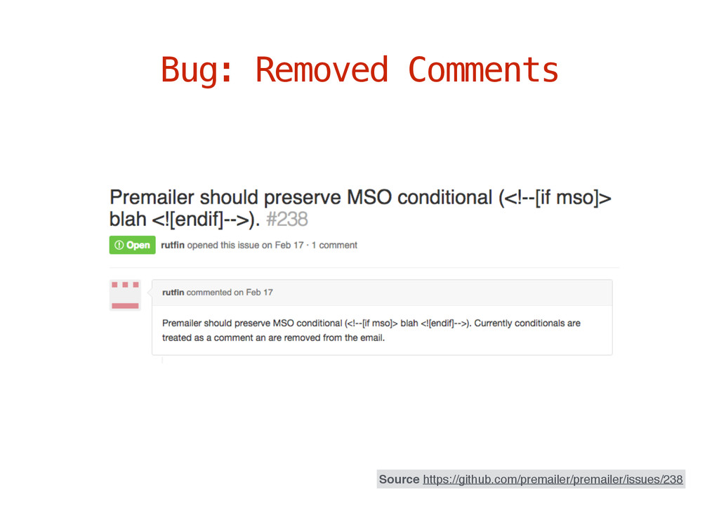 Bug: Removed Comments Source https://github.com...