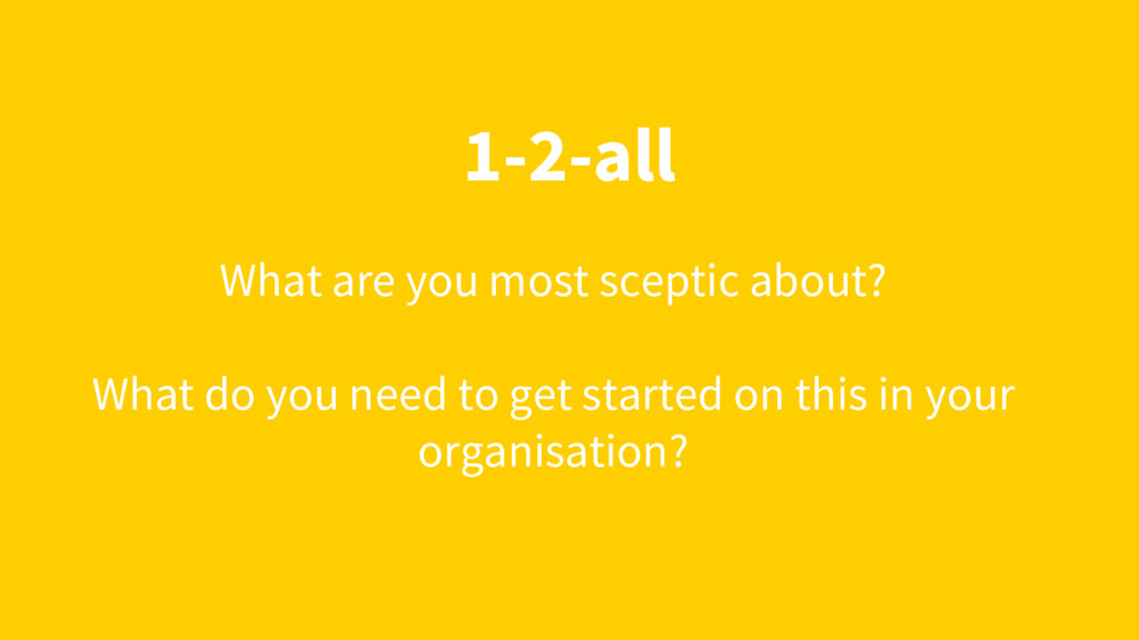 1-2-all What are you most sceptic about? What d...