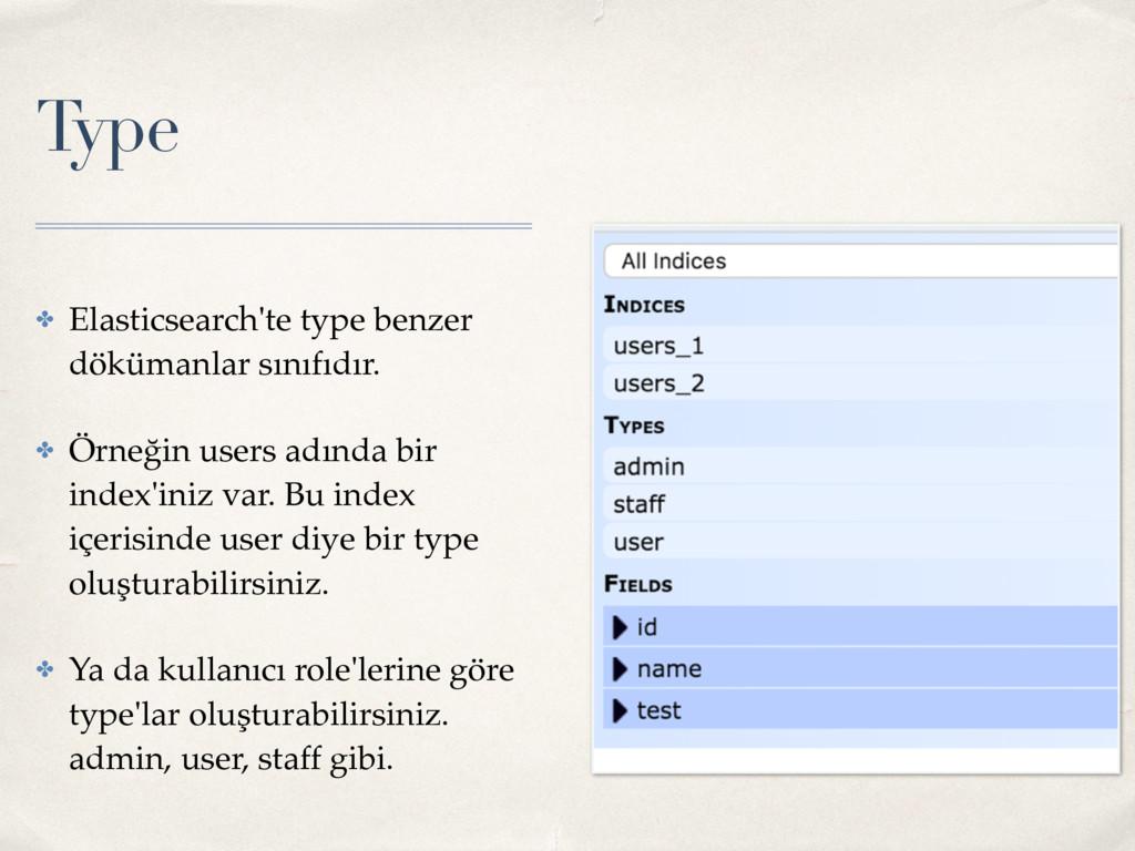 Type ✤ Elasticsearch'te type benzer dökümanlar ...