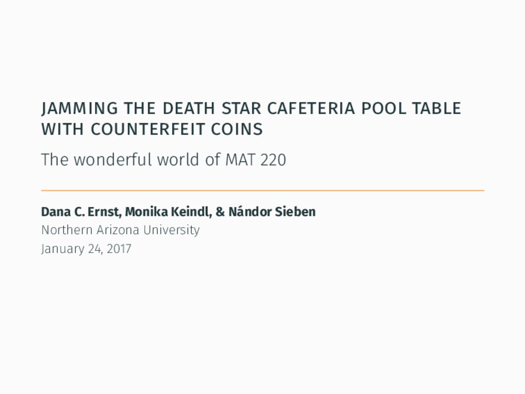 jamming the death star cafeteria pool table wit...