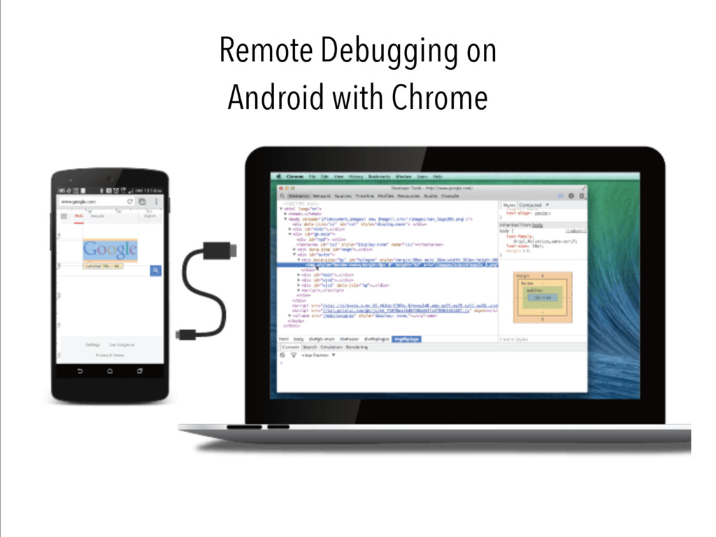 Remote Debugging on Android with Chrome