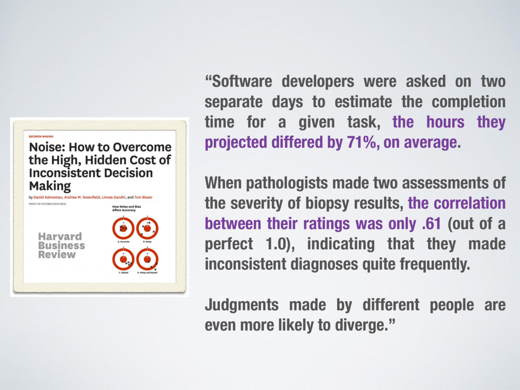 """Software developers were asked on two separate..."