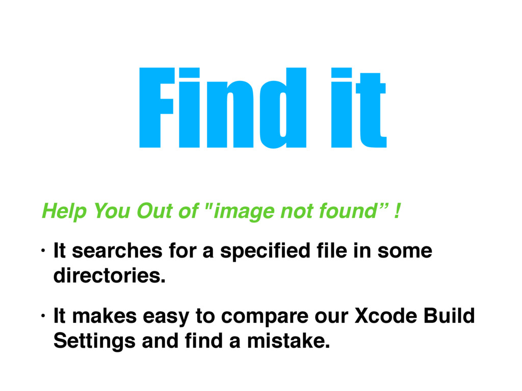 """Find it Help You Out of """"image not found"""" ! • I..."""