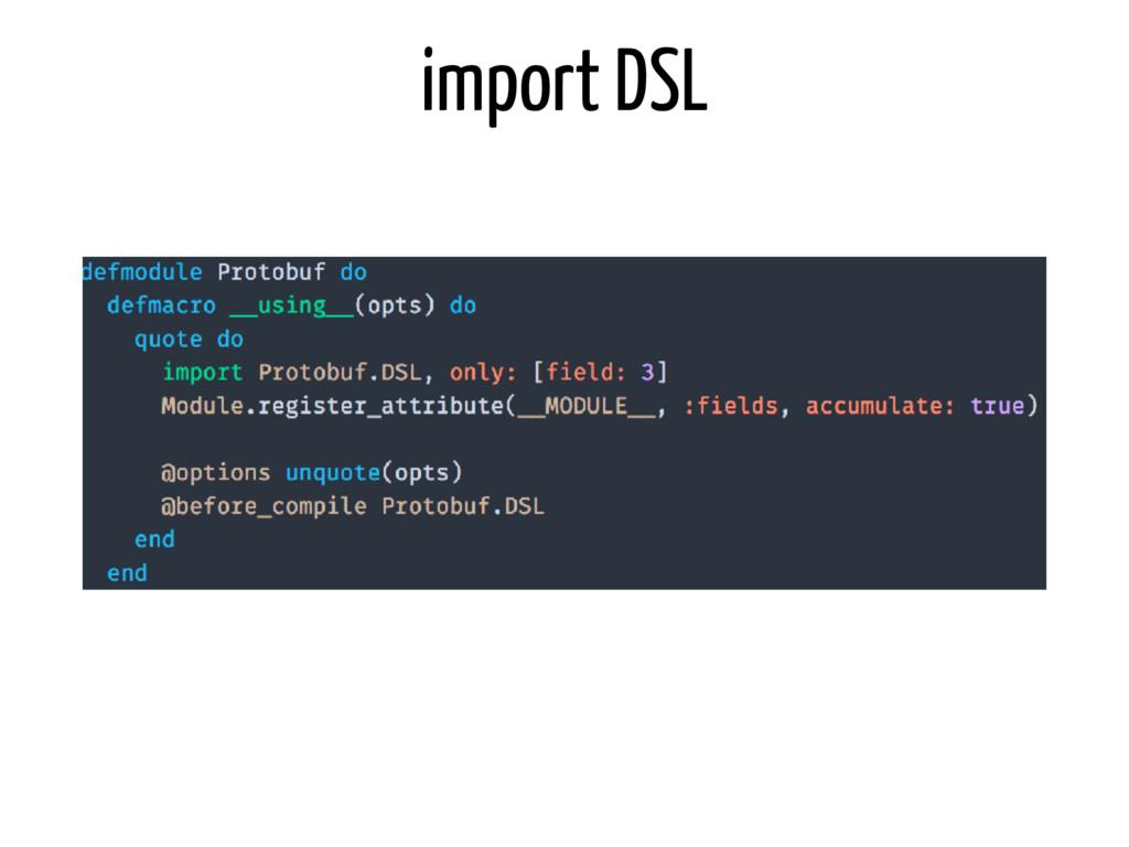 import DSL