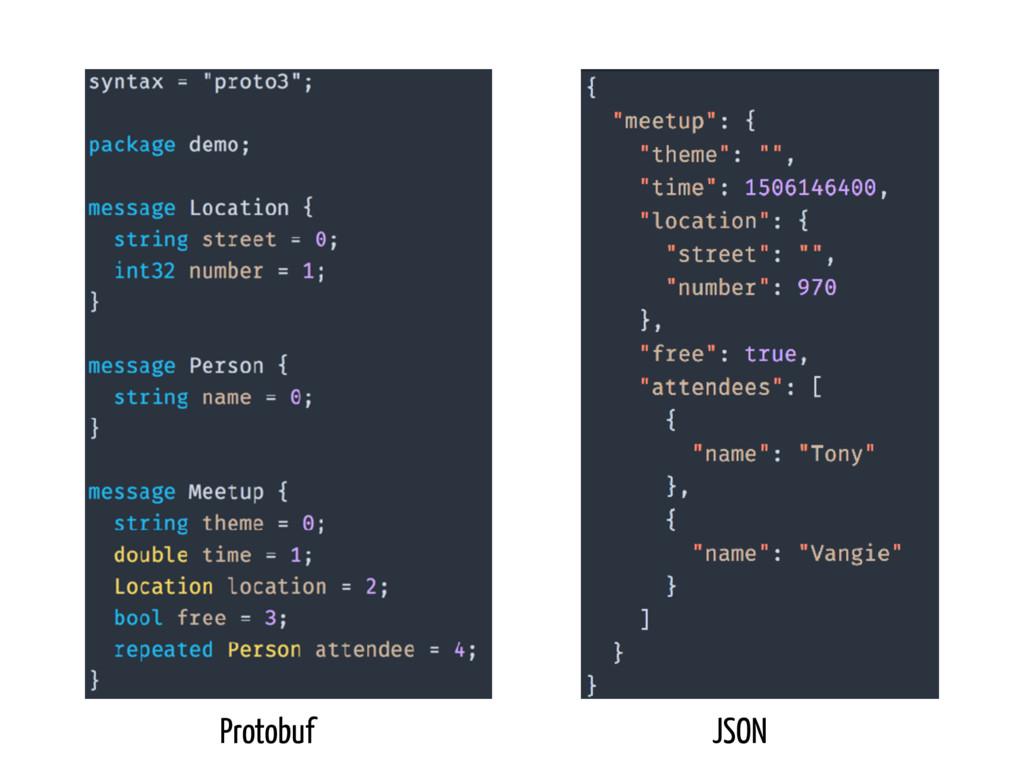 Protobuf JSON