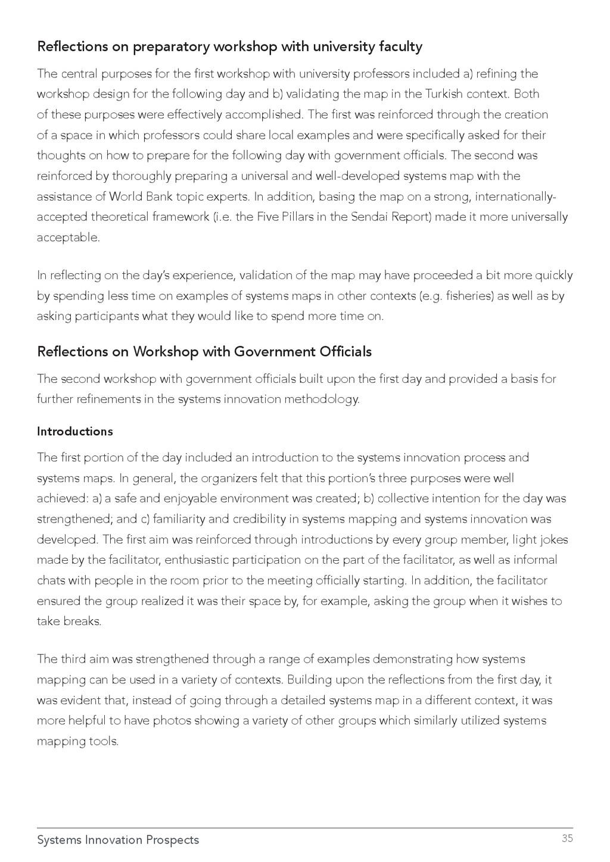 Systems Innovation Prospects 35 Reflections on ...