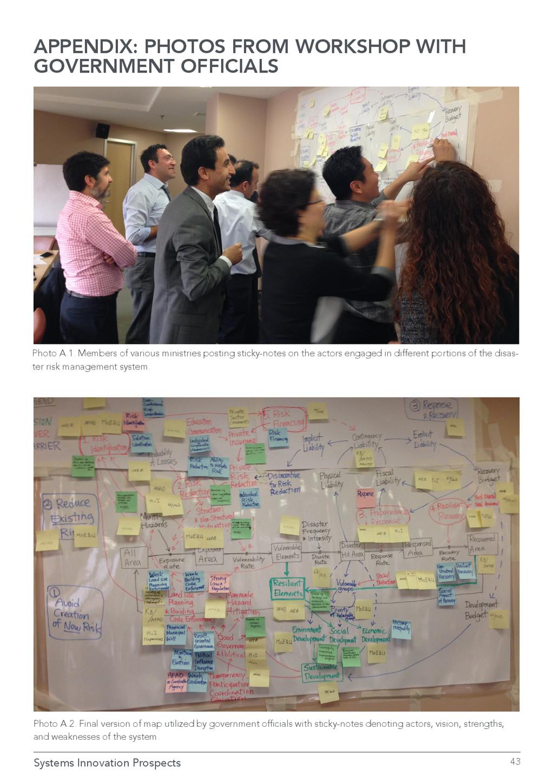 Systems Innovation Prospects 43 APPENDIX: PHOTO...