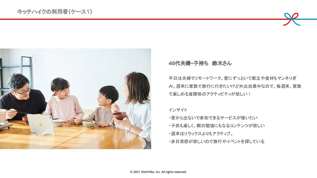 40代夫婦・子持ち 鈴木さん 平日は夫婦でリモートワーク。家にずっといて献立や食材もマンネリ...