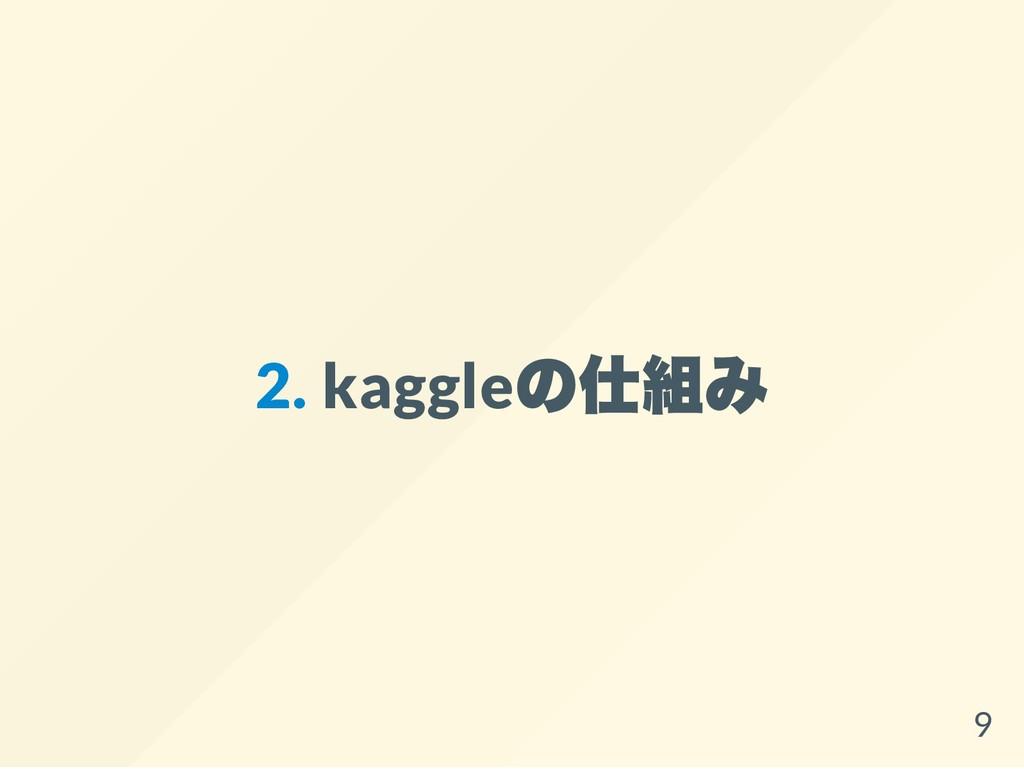 2. kaggle の仕組み 9