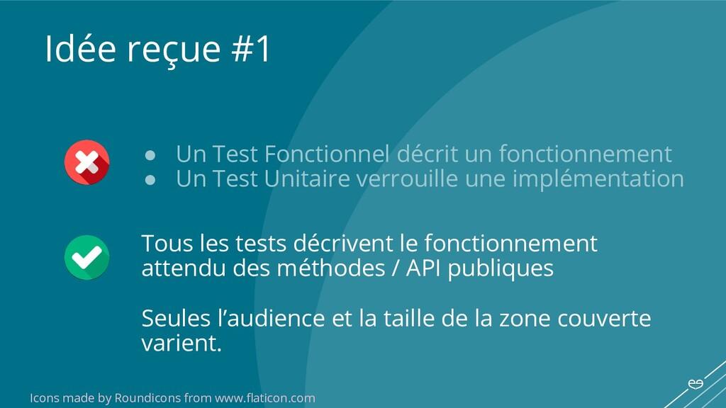 ● Un Test Fonctionnel décrit un fonctionnement ...