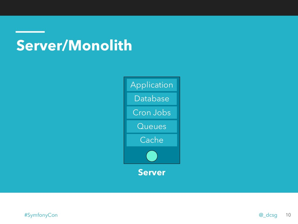 Server/Monolith 10 Database Cron Jobs Queues Ca...