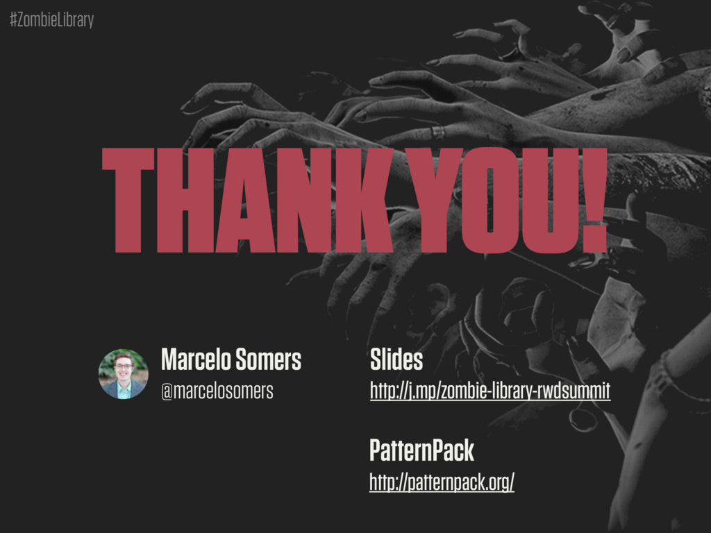 #ZombieLibrary THANK YOU! Marcelo Somers @marce...